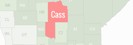 Cass County Map