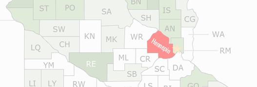 Hennepin County Map