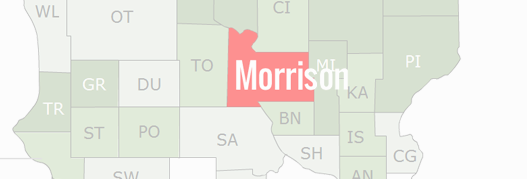 Morrison County Map
