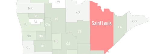St. Louis County Map